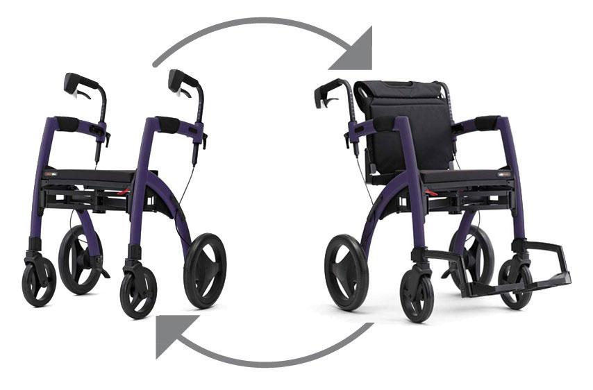 Rollz Motion Ihr Rollstuhl und Rollator in Einem