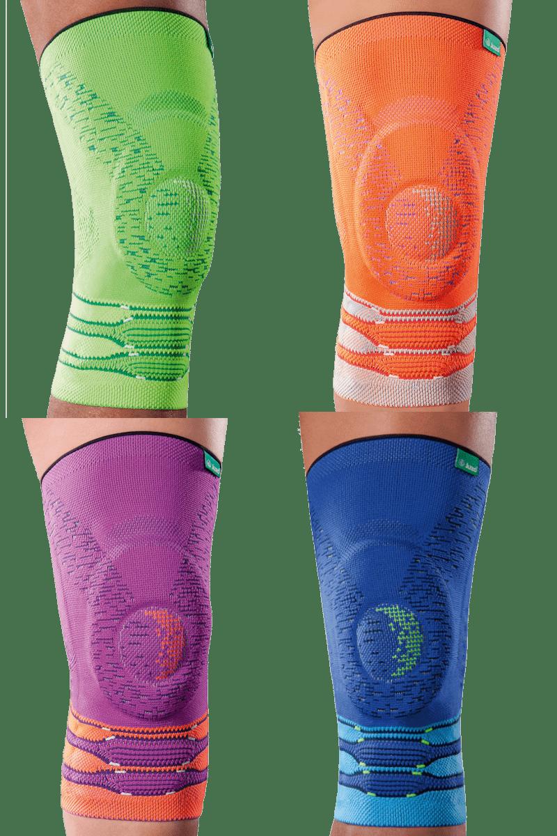 Bandagen in trendigen Neonfarben