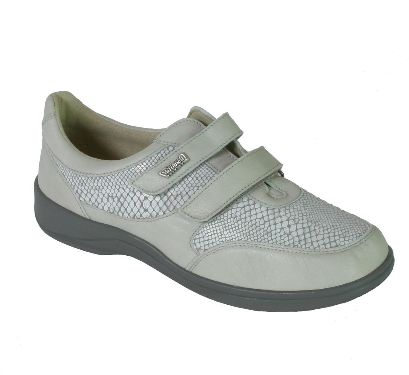 sports shoes a6729 e7790 Damen-Klett-Schuh Madrid, taubengrau