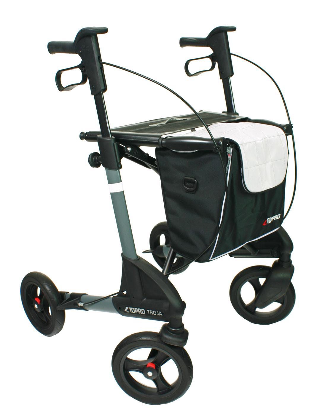 c29b9c47873427 ... Rollator Topro Troja 2G Premium mit geschlossener Einkaufstasche ...